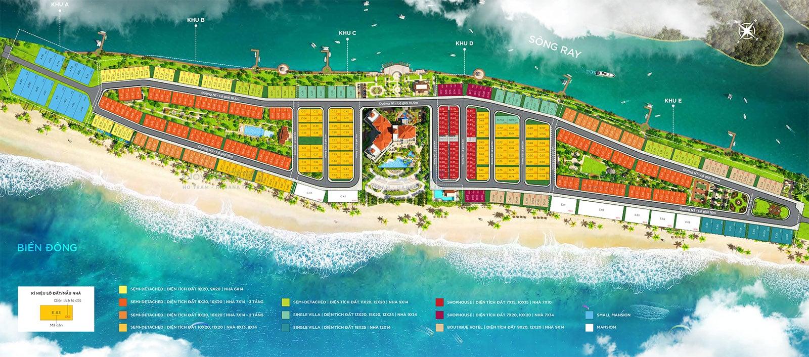 mat bang Habana Island